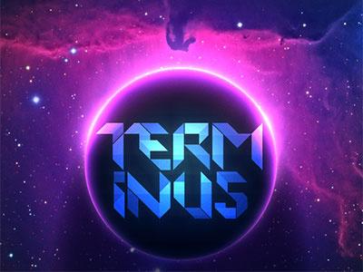 Terminus concept identity planet visual design