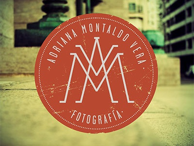 AMV  logo identity brand personal seal