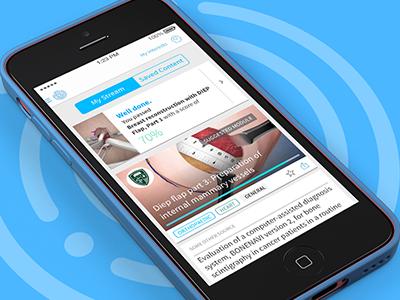 Touch Surgery: News stream simulation stream surgery news