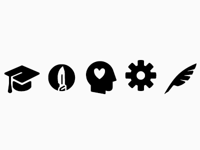 Touch Surgery: Icon Font vector font icon