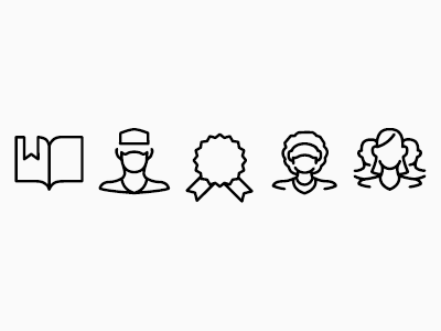 Touch Surgery: Icon Font, 2 font icon vector