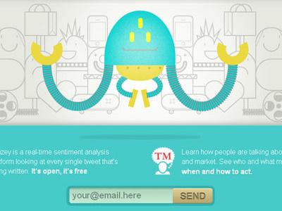 Zenzey ui webdesign mascot logo brand illustration