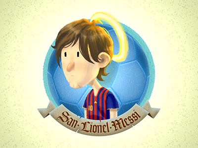 Saint Lio character design illustration character painting people soccer football