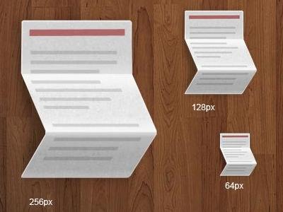 Fold Text Icon icon text