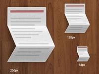 Fold Text Icon