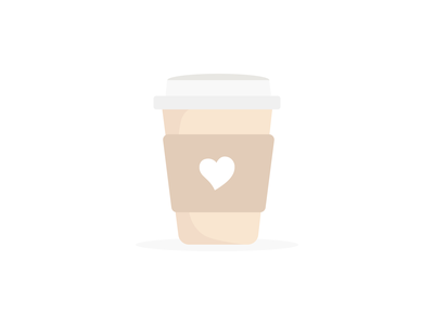 Coffee ☕️ simple coffee coffee cup art vector illustration vector 100daychallenge illustration