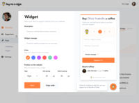Embeddable widgets