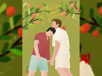 《Call Me By Your Name》Movie illustrations