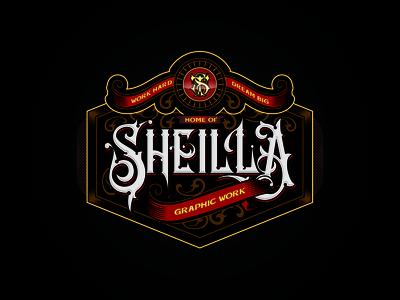 Sheilla Design Studio - Vintage Logo