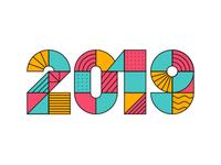 2019 Typography
