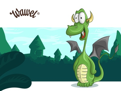 Concept and illustration of the dragon for Wawel