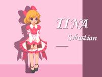 Pixel wind - cute girl