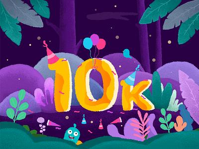10k art illustration