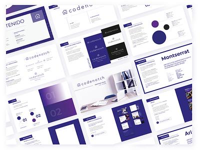 Codenotch Brand Identity Manual brand identity design identity design manual brand identity identity branding brand manual