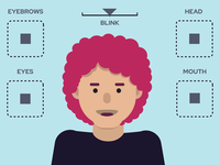 Joysticks n' Sliders illustration flat design flat animate