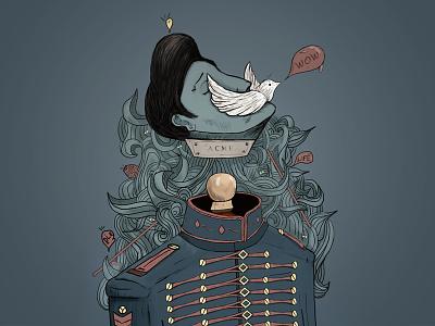 Sıyrıl ps digital art art draw illustration