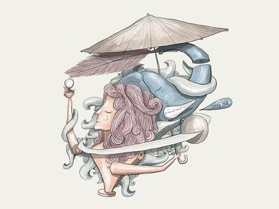 Narcissist narcissist digital art digital illustration draw art