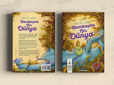 Children's Book - Bambaşka Bir Dünya character dragon book children paint sketch draw art illustration childrens book