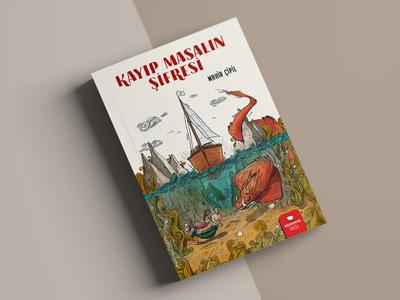 Kayıp Masalın Şifresi - Children's Book Illustrations human color design dragon book character children childrens book afiş time people sketch paint digital art digital draw art illustration