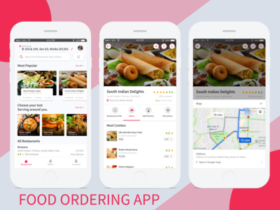 food ordering app 3x