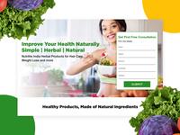 Nutrilite India Landing Page