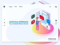 Antivirus Landing Page