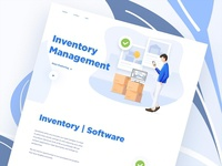 Inventory Management Landing Page