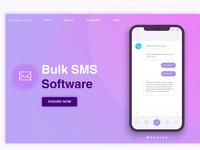 Bulk Sms Landing Page
