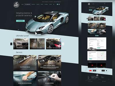 Elefant Wash - Web Design - Car detailing services sketch services detailing car webdesign web