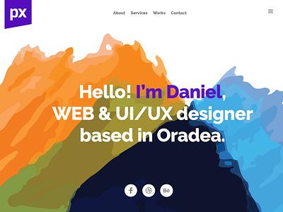 My personal website - WebDesign Presentation designer design professional personal web design