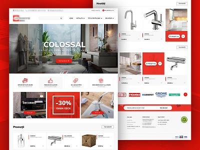 Online eShop Web Design products cart shop eshop online webdesign