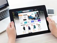 Camping, ecommerce, webdesign, shop, online, alaska