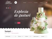 Cake Shopping Website Design