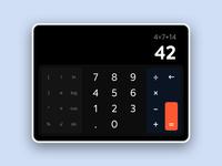 Calculator Dark