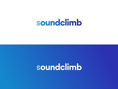 soundclimb logo icon digital design branding sketch