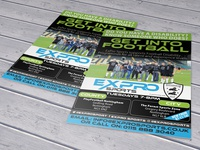 Expro Sports Flyer Design