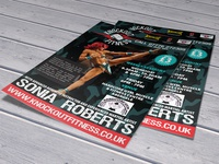 Knockout Fitness Flyer Design