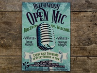 Event Flyer Open Mic