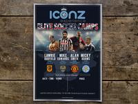 Soccer Tours Flyer Design