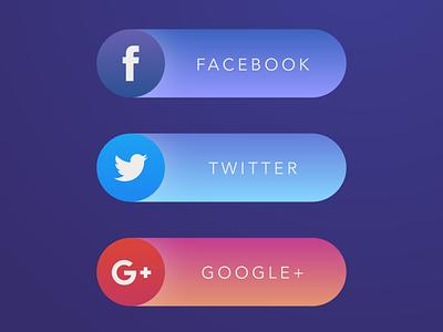 Share Buttons vector icon branding illustration ui design