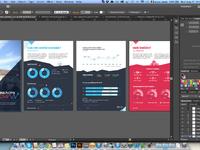 Full size infographics in illustrator