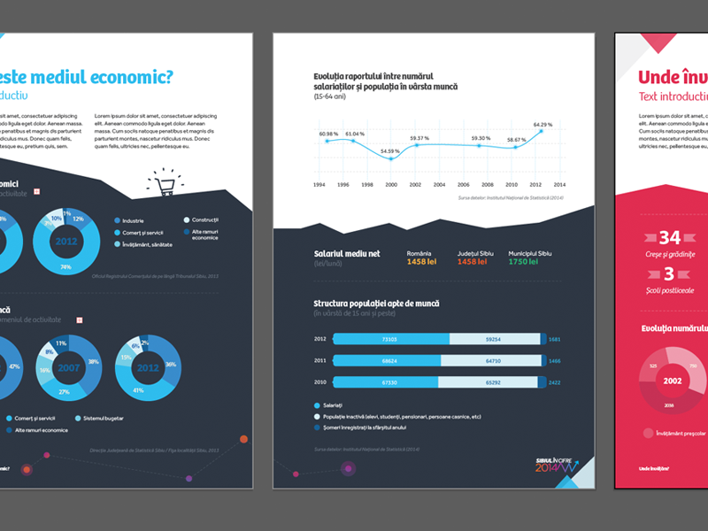 Infographics in Illustrator print infographics visual data illustrator