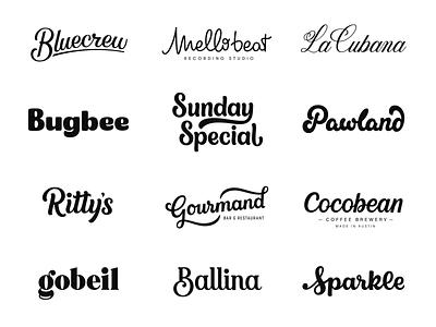 Custom Wordmarks typeface handlettered serif hand lettering calligraphy vector design custom wordmark typography type script logotype logo design logo lettering identity handlettering branding