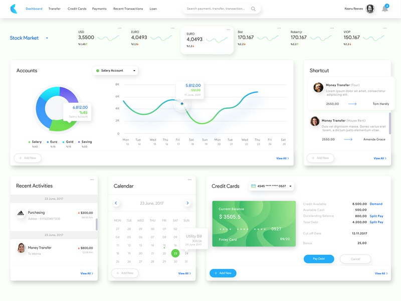 Payment Dashboard gate payment page dashboard design