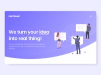 Chitranu Technologies - Landing Page