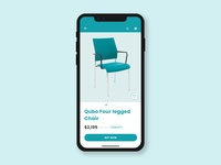 Chair App Concept