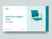 Furniture eCommerce concept