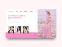 Fashion e-commerce concept
