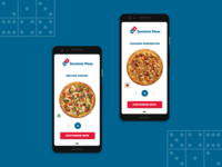 Dominos Pizza Redesign