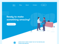 Comapny Webpage Concept